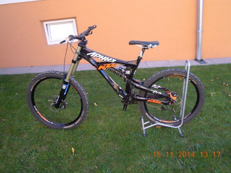 Verkaufe KTM DH Bike Aphex 2013